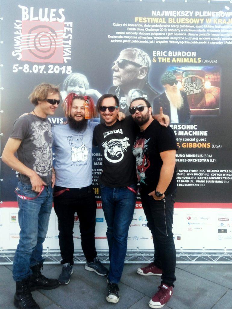 Suwałki Blues Festival 2018 - koncert Danny Boy Experience